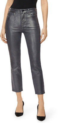 J Brand Ruby High-Rise Cigarette Crop Jeans