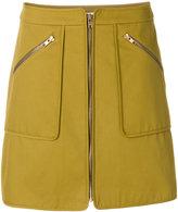 Kenzo zipped mini skirt