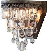 Amonson Lighting Clarissa Glass Drop Wall Lamp