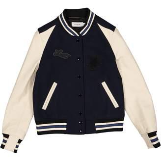Coach Navy Wool Jackets