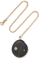 Cvc Stones Danska 18-karat Gold, Stone And Diamond Necklace - one size