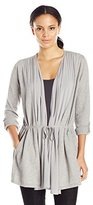 Lucky Brand Women's Modern Drapey Sweater Cardigan