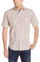 Bogosse Men's Mini Nate 67 Short Sleeve Button Down Shirt