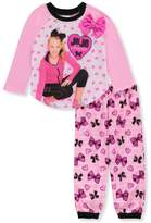 Nickelodeon Jojo Siwa Little Girls' 2-Piece Pajamas - pink/multi, 6