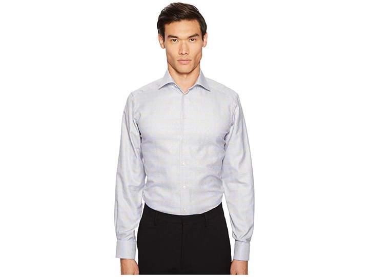Eton Contemporary Fit Plaid Shirt