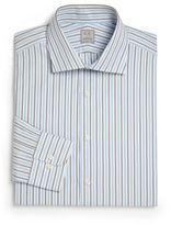Ike Behar Regular-Fit Striped Dress Shirt