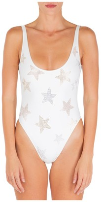 Stella McCartney Studded Stars One-Piece Swimsuit