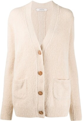 Dorothee Schumacher Patch-Pocket Knitted Cardigan
