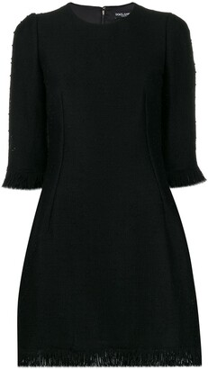 Dolce & Gabbana Boucle Mini Dress