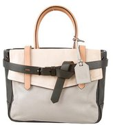Reed Krakoff Colorblock Boxer Satchel