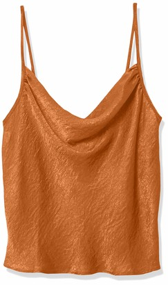 Forever 21 Women's Plus Size Satin Cowl Neck Cami