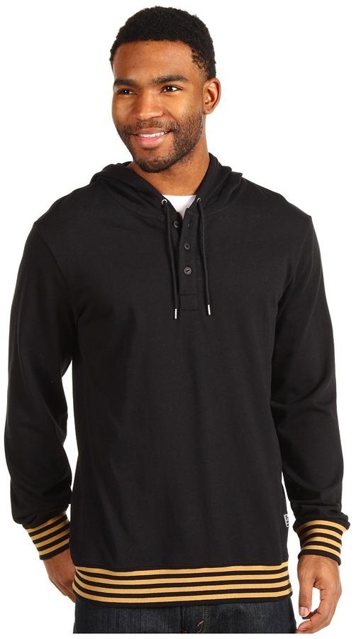 Nike SB - Repeater Henley Pullover Hoodie (Black) - Apparel