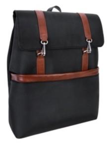 """McKlein Element 17"""" Nylon Flap-Over Laptop Tablet Backpack"""