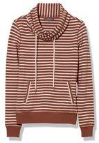 L.L. Bean Signature Funnel-Neck Sweatshirt, Stripe