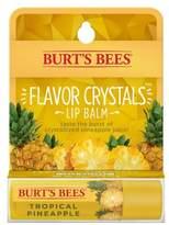 Burt's Bees Lip Balm Tropical Pineapple Flavor Crystals 0.15 oz