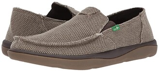 Sanuk Vagabond Tripper (Brown) Men's Slip on Shoes