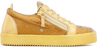 Giuseppe Zanotti Snakeskin-Effect Sneakers