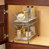 Bed Bath & Beyond Deluxe Medium Bathroom Cabinet Drawer in Matte Nickel