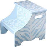 The Well Appointed House Renditions by Reesa Blue Safari Step Stool