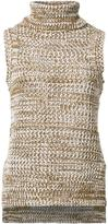 Derek Lam 10 Crosby knitted turtleneck top - women - Cotton - XS