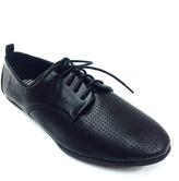 Black Neptune Perforated Oxford