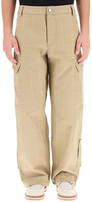 Jacquemus Embroidered Cargo Trousers