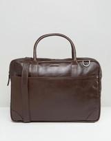 Royal RepubliQ Explorer Leather Laptop Bag With Single Compartment