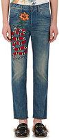 Gucci Men's Embellished Slim Jeans