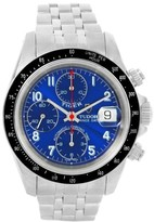 Tudor Tiger Prince Date 79260 Chronograph Blue Dial Stainless Steel 40.0 mm Mens Watch