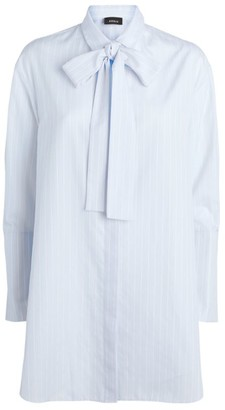 Akris Striped Tunic Shirt