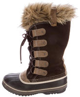Sorel Suede Mid-Calf Snow Boots