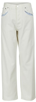 Maison Margiela Perforated effect jeans