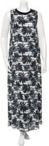 L'Agence Sleeveless Printed Dress w/ Tags