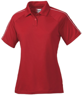 Clique Red Canberra Lady Polo - Plus Too