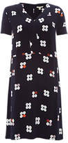 White Stuff Dotty Town Print Dress, Old Blue