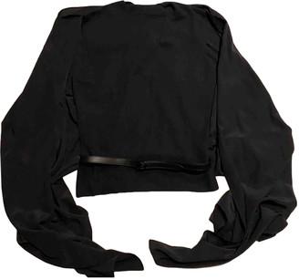 Hermes Black Cashmere Tops