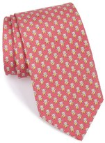 Salvatore Ferragamo Men's Teddy Bear Print Silk Tie