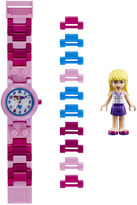 Lego Friends Stephanie Kids Watch with Mini Figure