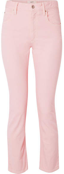 Etoile Isabel Marant Fliff Slim Boyfriend Jeans - Pastel pink