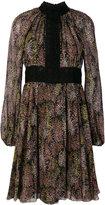 Giambattista Valli flared floral dress - women - Silk/Cotton/Polyamide/Polyester - 40