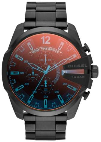 Diesel R) 'Mega Chief' Chronograph Bracelet Watch, 51mm