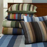 PBteen Henley Stripe Quilt + Sham