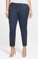 NYDJ Plus Size Women's 'Clarissa' Stretch Slim Ankle Jeans