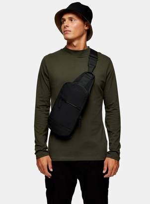 TopmanTopman Forest Green Turtle Neck Long Sleeve T-Shirt