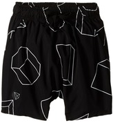Nununu Geometric Baggy Surf Shorts (Infant/Toddler/Little Kids)