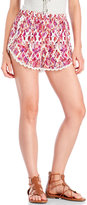 Hawaiian Tropic Ikat Print Shorts