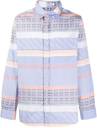 Engineered Garments Embroidered Button-Down Shirt