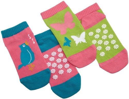 Hatley Girls 2-6x 2 Pairs Spring Song Socks
