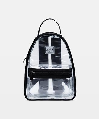 Herschel Nova Mini Clear Backpack Black