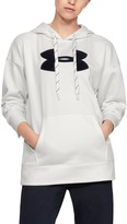 Under Armour Women's Armour Fleece Chenille Logo Hoodie